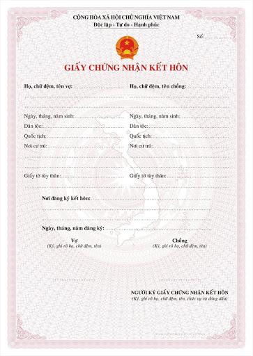 làm giấy chứng nhận kết hôn giả